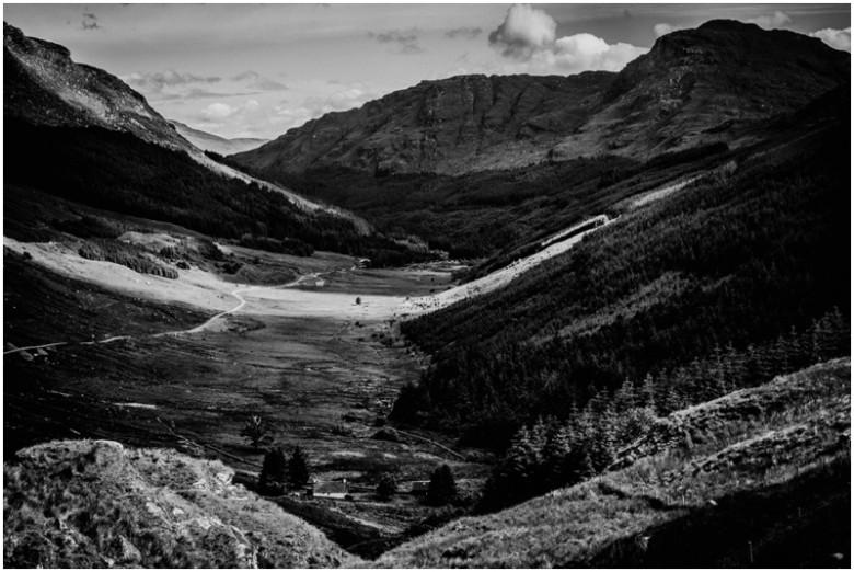 scottish mountains landscape