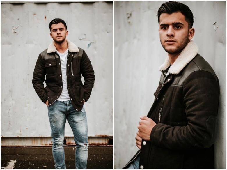 urban fashion photoshoot