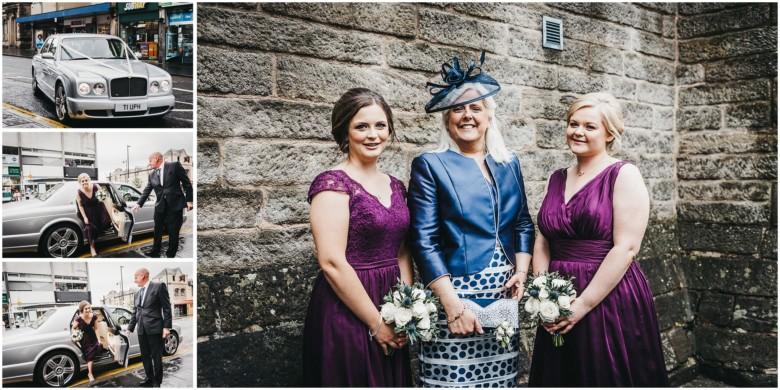 brides mum and her bridesmaids