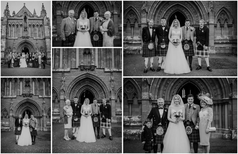 wedding family images