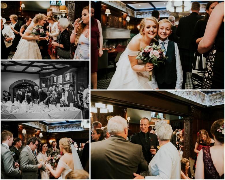 wedding drinks reception