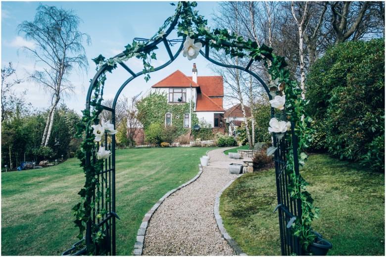 brides house