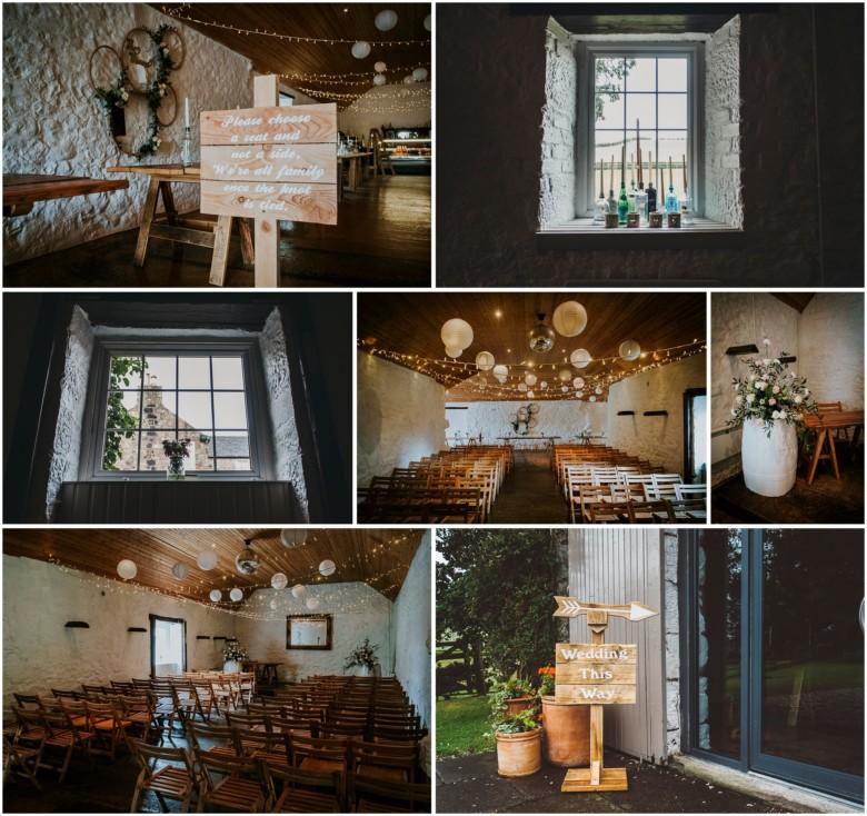 wedding venue decoration details