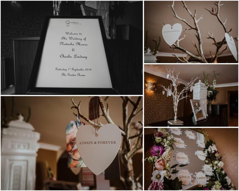 wedding venue details