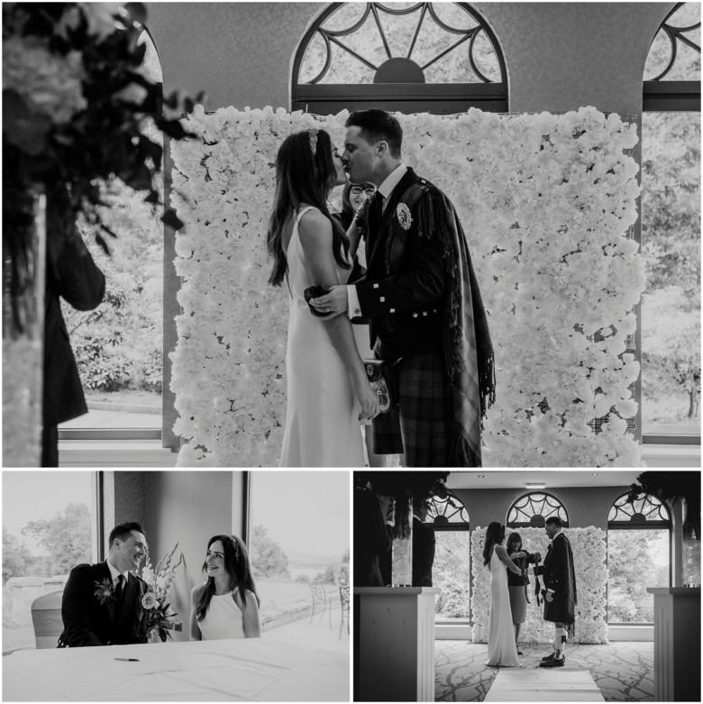 bride and groom wedding ceremonybride and groom wedding ceremony