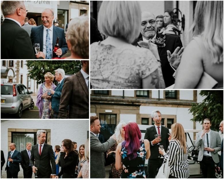 wedding champagne reception