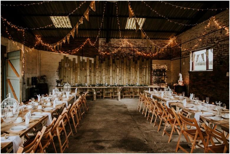 rustic barn wedding venue in Ayrshire