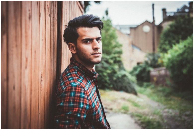 male model natural light image