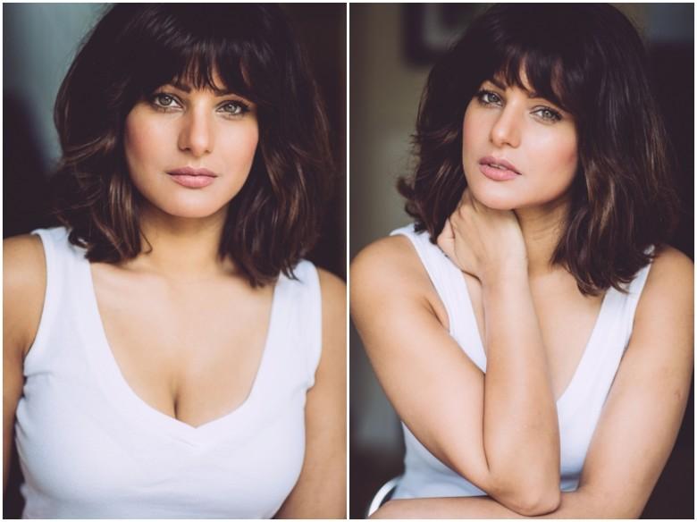 female model natural light portrait image
