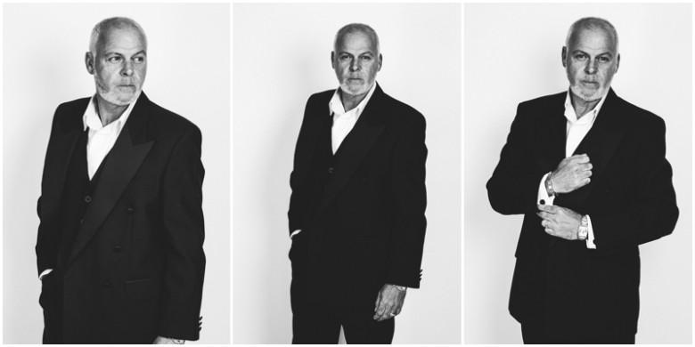 mature male model studio image