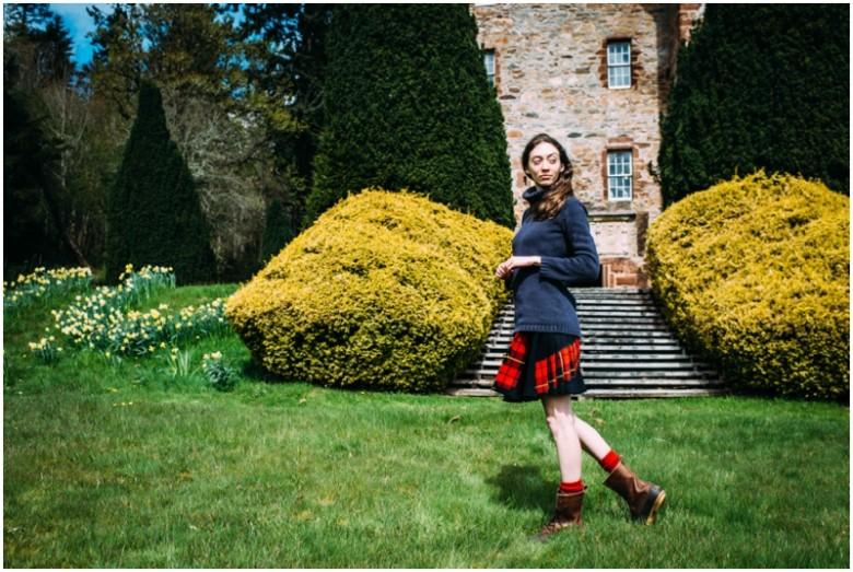 Elle and Siobhan MacKenzie fashion photoshoot