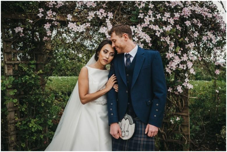 Fenwick Hotel Bride and Groom