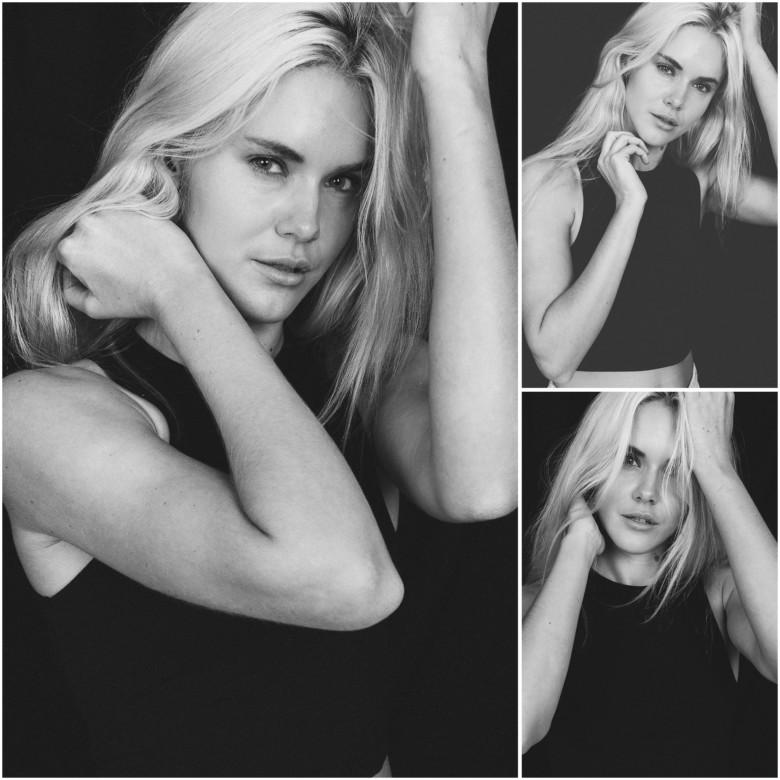 photoshoot for an australian female model