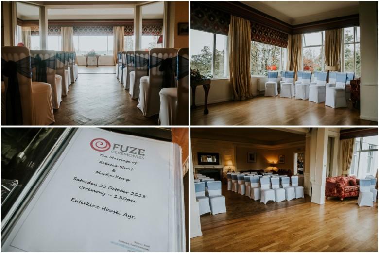 wedding venue ceremony room